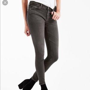 Ag The Legging Super Skinny In Grey Mist